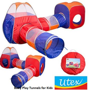 Get Creative with Baby Tunnel  Every parent wants to bring the best of the toy available in the market for their little babies and toddlers. It has been observed that kids like to Play with Tunnels and may be that is the reason there are many Baby Tunnels in kindergarten and other play areas in USA. Getting Tunnel for Kids is ideal gift. These tunnels help hugely in enhancing sensory ability in a child along with an introduction to fine motor skills.