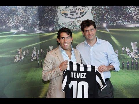 FOOTBALL -  Carlos Tevez alla Juventus - Carlos Tevez joins Juventus