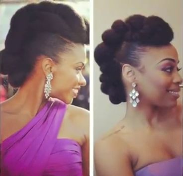 Corn Rows with Marley Hair | Vlogger MsVaughn does a simple recreation of actress Teyonah Parris ...