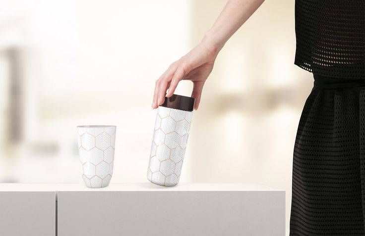 The Travel Mug One-o-One is not only a #stylish accessory but is also #functional if used habitually because its material sustains the #wellbeing of #organism. #HangarDesignGroup #Acera