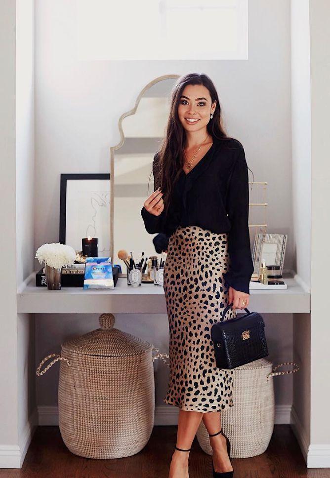 Leopard skirt via With Love From Kat. – #Kat #Leopard #love #skirt