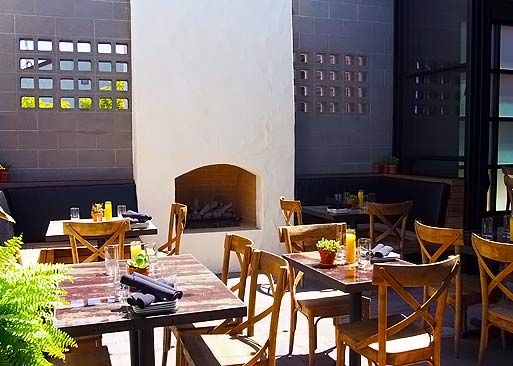 The Patio On Goldfinch Is A Sight To See In San Diego With Two Immense  Living