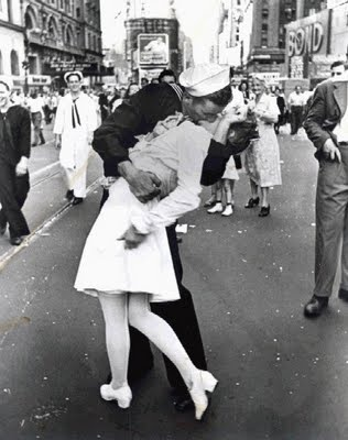 V- Day in Time Square, Pulitzer Prize winning photo and one of the most memorable of WWII.