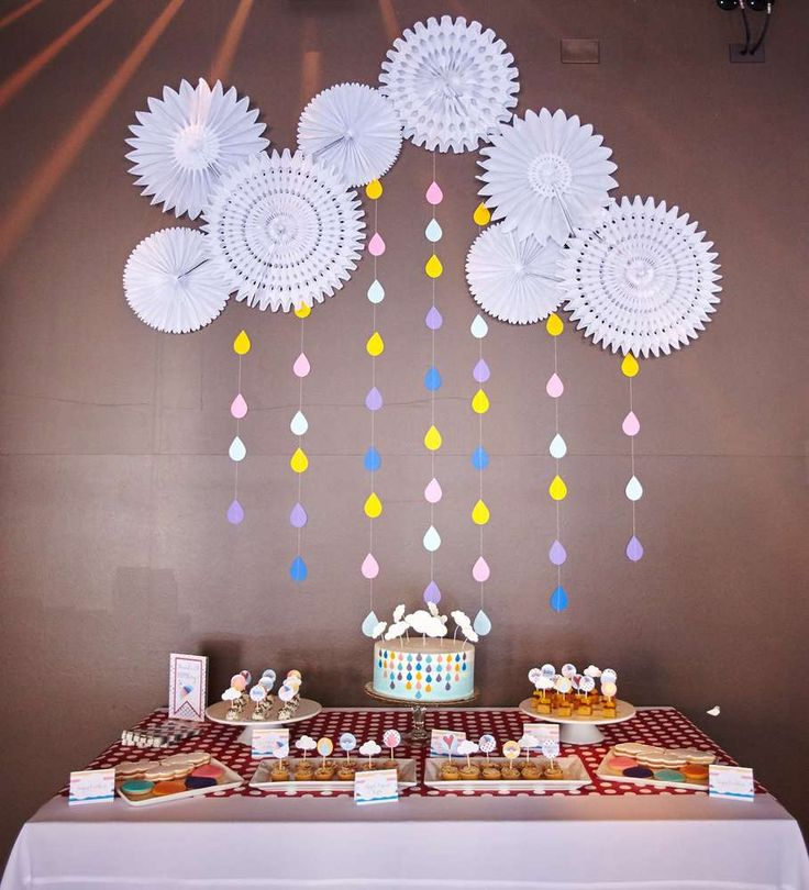 Showered With Love Baby Shower Party Ideas