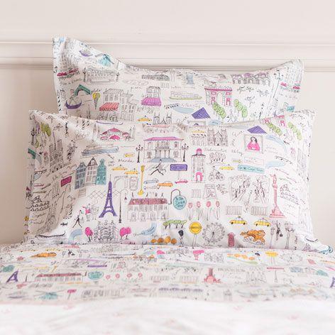 City print bedding bedding bedroom zara home united - Zara home portugal ...