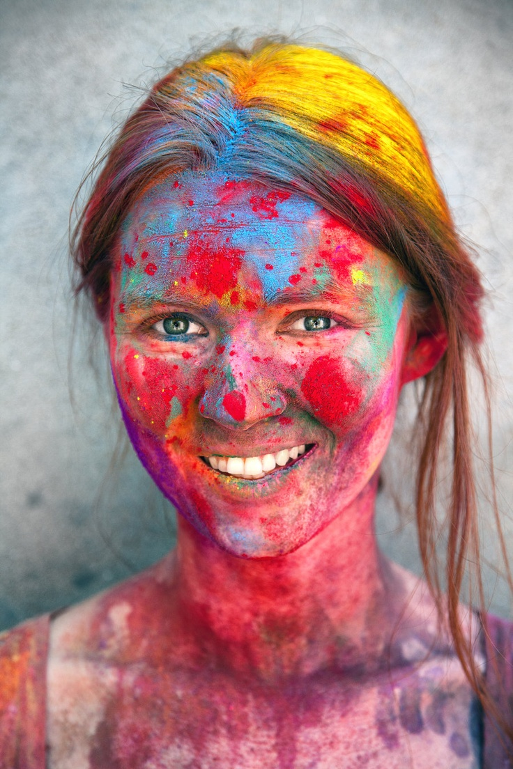 "I need to go to India for the Holi celebration to mark the beginning of Spring! ""Holi 1"" by WerdnOcculta.deviantart.com"