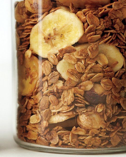Coffee, Hazelnut, and Banana Granola Recipe