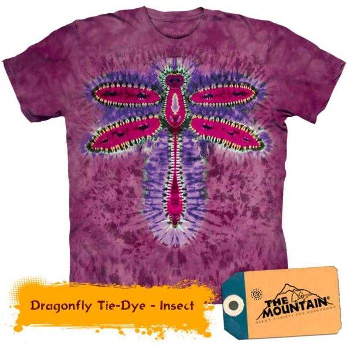 Tricouri The Mountain – Tricou Dragonfly Tie-Dye