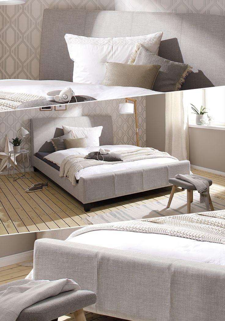 So Typisch Nordisch, Dieses Polsterbett. Ganz Unaufgeregt Und Trotzdem  Elegant Im Design, Passt