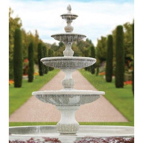 "186"" Four Tier Savona Fountain"