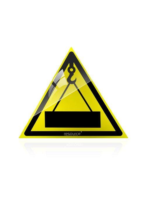 Осторожно, работает кран (Пластик) – купить знак
