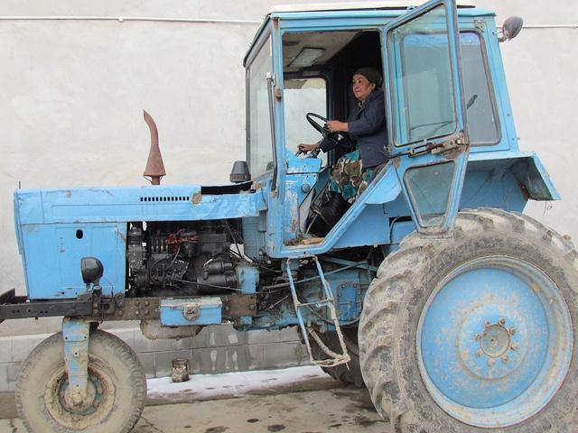 Women can... run a farm