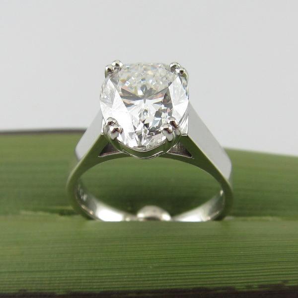 Pear Shaped Diamond Ring (CAD) | Geoff Taylor Goldsmith