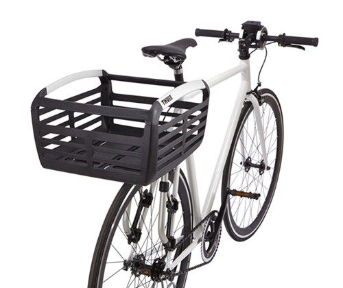Thule Pack 'n Pedal Basket for Bike Racks - 33 lbs - Black Thule Bike Accessories TH100050