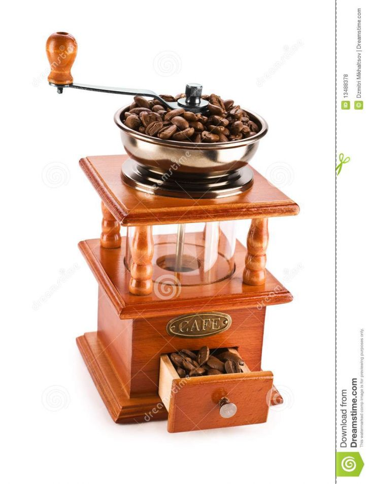 Traditional Coffee Grinder Royalty Free Stock Photos - Image: 13488378