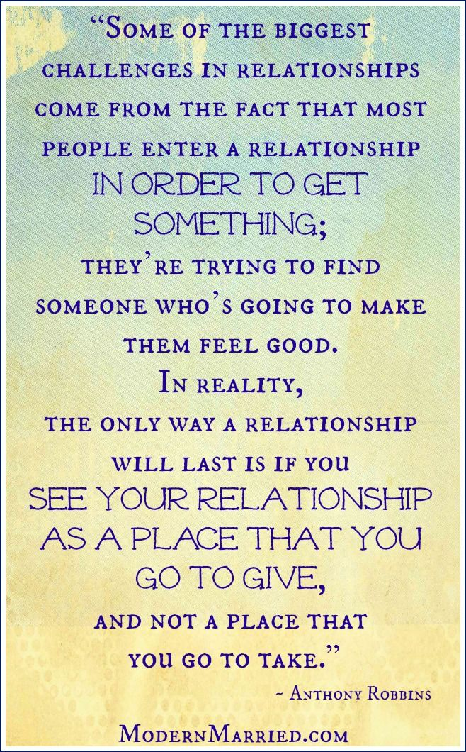 Good Anthony Robbins Relationship Quote. Click Over To The Blog To Read More  Marriage Inspiration.