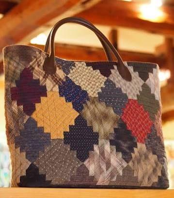 Log Cabin my favorite bag  大好きなログキャビンのバッグ2010