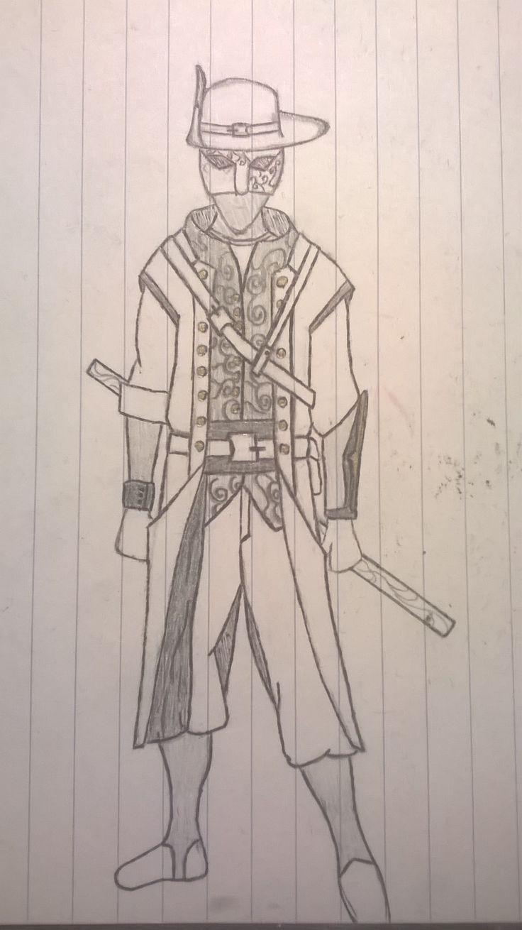 An extra sketch I did. Could be an assassin from Assassins Creed, or something else.