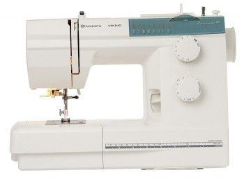 Macchina da cucire Husqvarna Emerald 116 con motore a controllo elettronico cui non necessita di lubrificazione.
