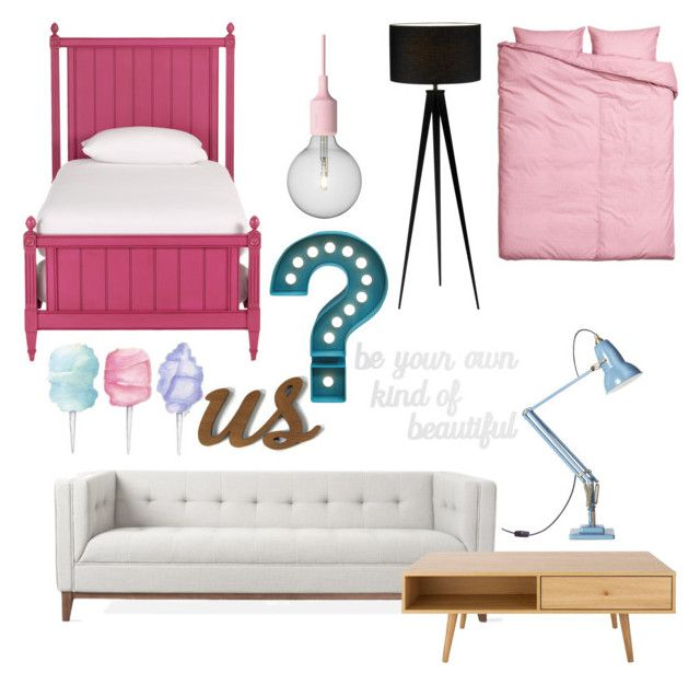 """""""Untitled #24"""" by archita-dewi on Polyvore featuring interior, interiors, interior design, home, home decor, interior decorating, Ethan Allen, Anglepoise, Muuto and Room Essentials"""