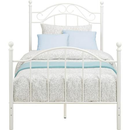 Mainstays Twin Metal Bed Multiple Colors Metals Metal