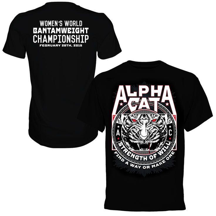 Cat Zingano UFC 184 T-Shirt - Black - $29.99