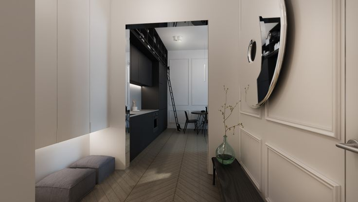 #interior #white and black #oskar zieta