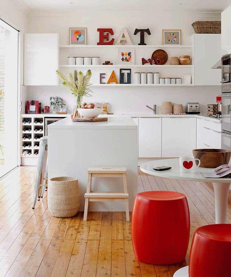 Die besten 25+ Rote küche akzente Ideen auf Pinterest Rotes - tapete k che abwaschbar
