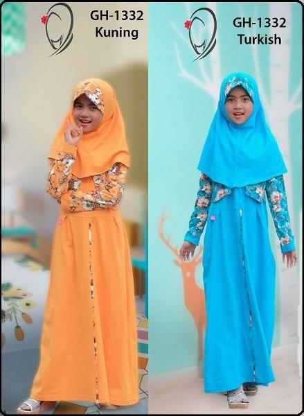 Jual beli Baju  Rahnem Anak GH - 1332 di Lapak Aprilia Wati - agenbajumuslim. Menjual Dress - Rahnem Anak GH-1332 Kode : GH-1332 Warna : Biru & Kuning   Ready size : m,l,xxl Ready warna : biru  Rahnem Anak GH-1332  Harga : Rp. 139.000 (S-M) Harga : Rp. 149.000 (L-XL) Harga : Rp. 159.000 (XXL-XXXL)   Size : S, M, L, XL, XXL, XXXL TERMASUK  JILBAB  Stok Barang Berubah sewaktu-waktu tanpa pemberitahuan terlebih dahulu, Mohon pastikan ketersediaan stok sebelum closing. Untuk Ketersediaan...