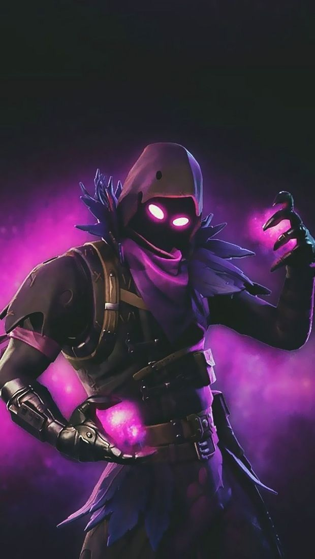 Fortnite Full Hd Phone Vertical Wallpaper Raven Pictures Ios