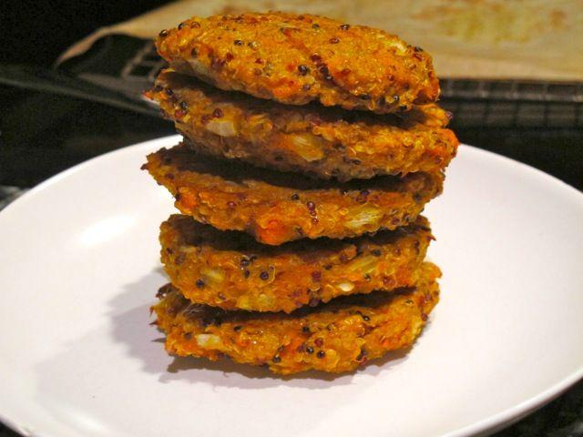Homemade Quinoa Masala Burgers