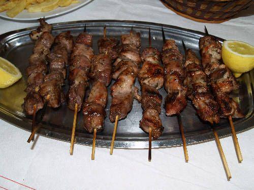 Pork Souvlaki: Grilled Pork Kebabs