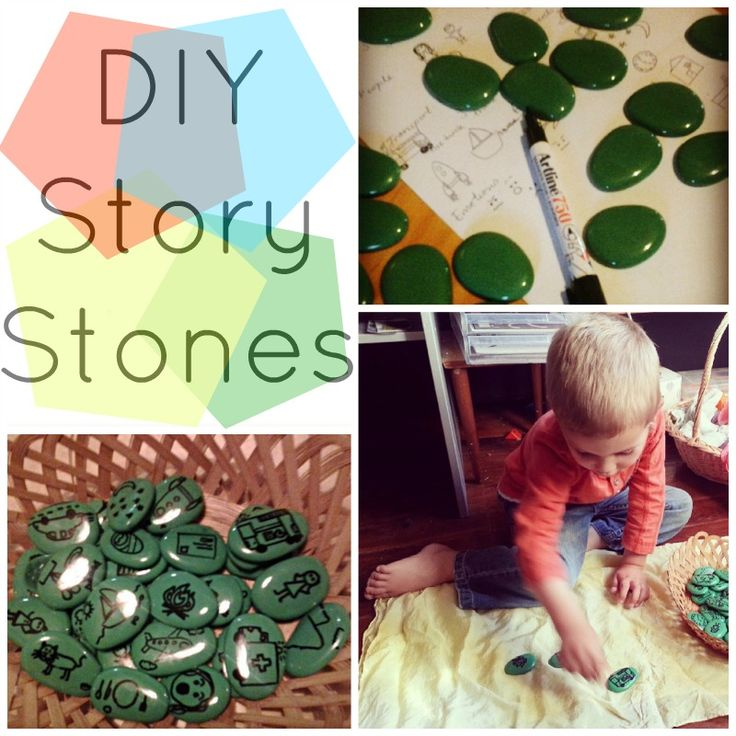 Story stones for creating stories, emotional growth, creativity etc