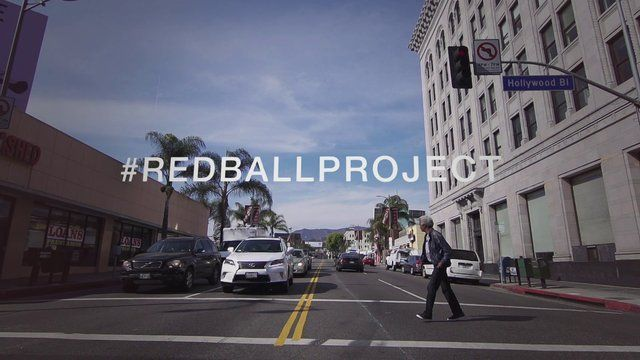 A brief moment in the life of the RedBall Project, Hollywood, L.A. Directed & Edited by Tony Gaddis, Camera Danny Cooke. #redballproject