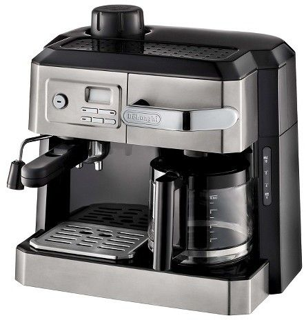 De'Longhi Delonghi Combination Drip Coffee, Espresso, Cappuccino and Latte Machine