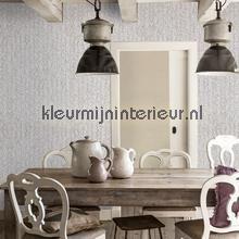 Geweven rattan bruin behang 18300 Landelijk - Cottage BN Wallcoverings