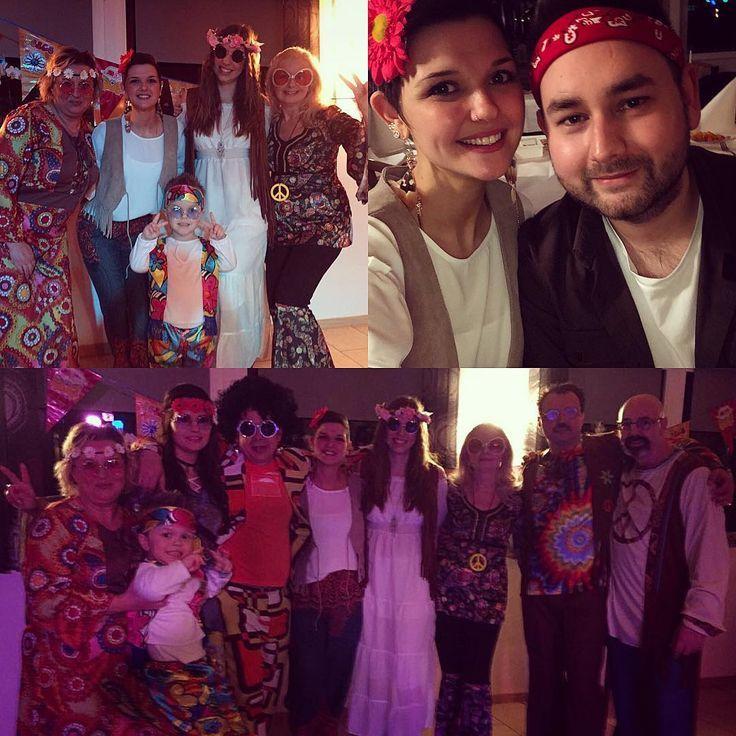 Best evening :-) - Hippie Party  Dads Birthday   #hippie #hippiestyle #hippietimes #party #motto #mottoparty #family #familylove #love #life #germany #peace #goodlife #bestfriend #bestfamily #inlove #costume #weekend #saturdaynight #saturday #crazy #dadsbirthdayparty #birthday #daddy #haveanicesunday