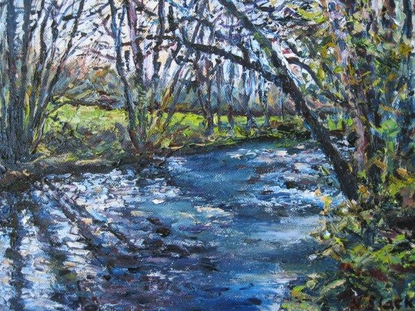 'Morning Reflections on the Dodder' www.niamhslack.com
