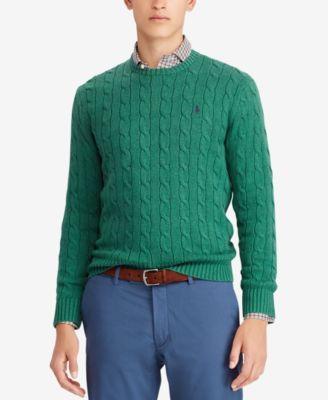 33a131d4c7 Men s Cable-Knit Cotton Sweater