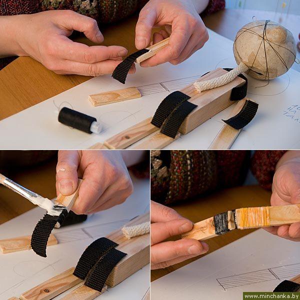 Сделать из дерева марионетку своими руками