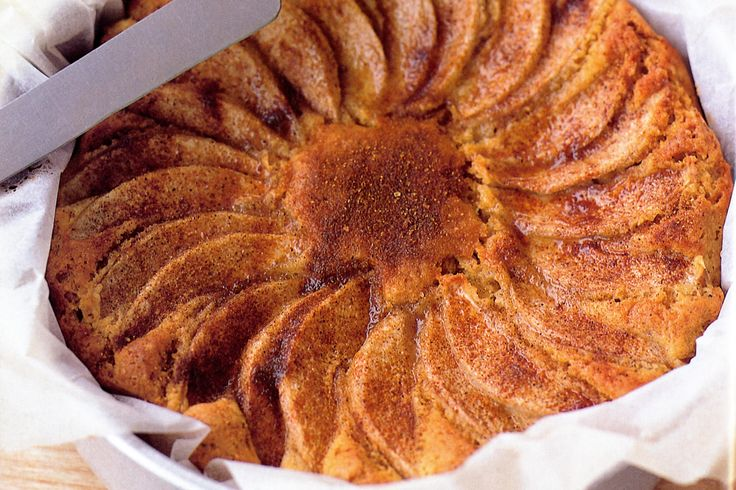 Warm Spiced Nashi Teacake Recipe