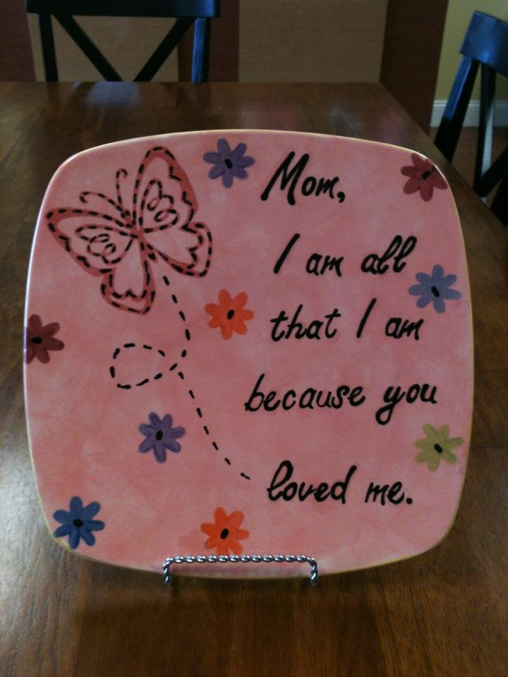 24 best mothers day gift ideas images on pinterest hand painted a beautiful gift for mom any time of the year made at paint a piece negle Choice Image