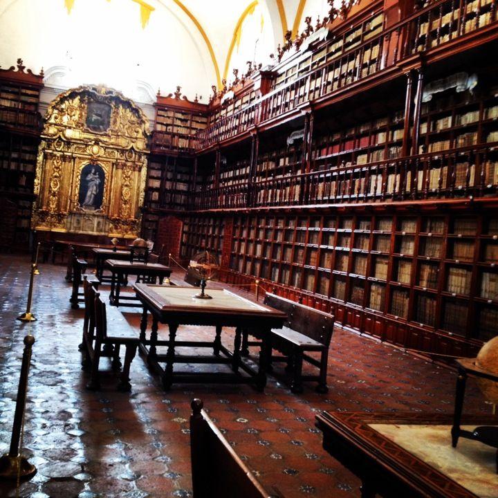 Biblioteca Palafoxiana en Puebla de Zaragoza, Puebla