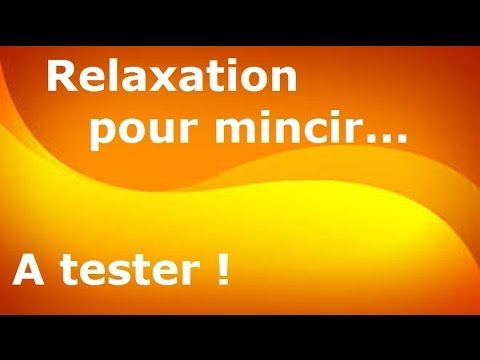 MAIGRIR GRÂCE À LA SOPHROLOGIE 1ère séance relaxation du programme minceur ZeN'n Diet - YouTube