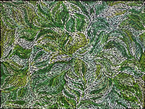 Bush Yam Leaves - JPEG0616