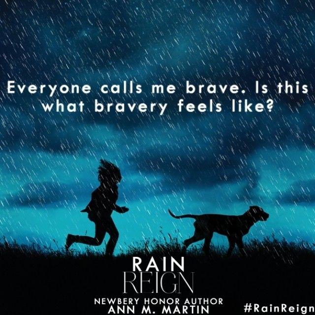 rain reign by ann m martin quotes pinterest martin