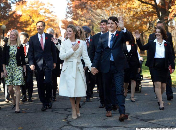 Justin Trudeau Castro Sohn