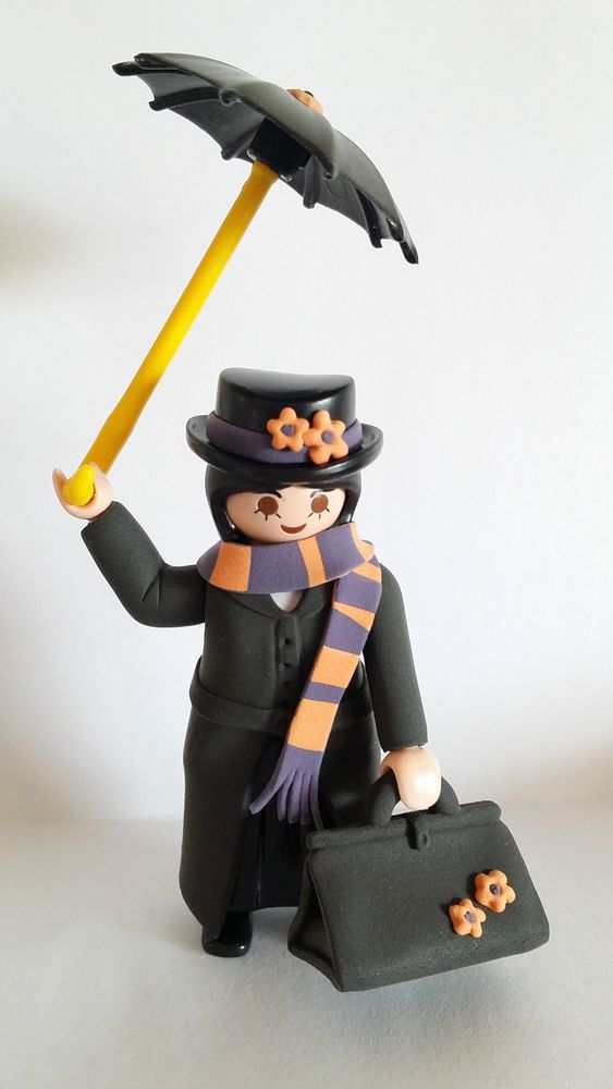FIGURA CUSTOM MARY POPPINS - PLAYMOBIL