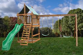 Plans to Build your own Classic-Fort-swing-set