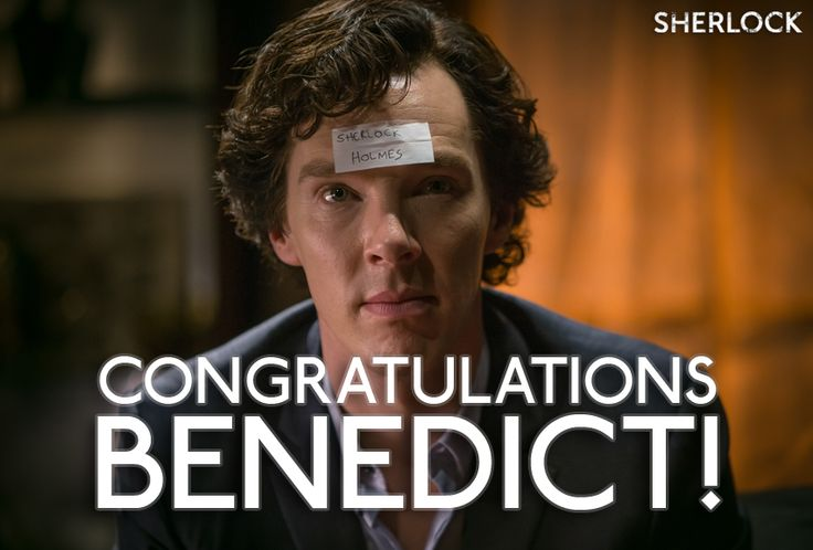 Congratulations to our very own Consulting Detective for winning the Best TV Detective award at last night's National TV Awards in the UK!